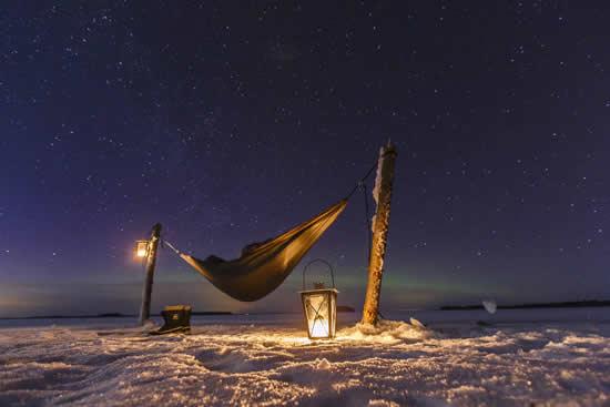 Finland_camping_winter_Saimaa