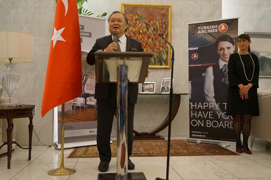 JATA副会長の菊間氏、トルコ国内の安全を確認