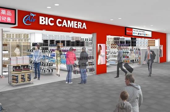 セントレア国際線出発制限エリアに「Air BIC CAMERA」がオープン