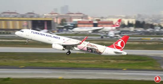 ターキッシュ エアラインズ 「トロイ」 をテーマにした航空機を就航