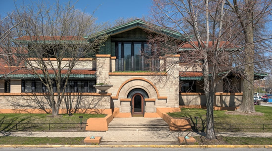 Frank Lloyd Wright - Dana Thomas House