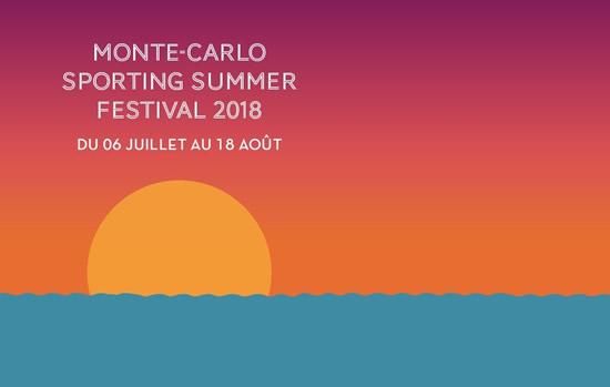 Monte Carlo Sporting Summer Festival 2018 Logo