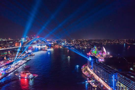 世界最大級の光と音楽・アイデアの祭典「ビビッド・シドニー」が開幕