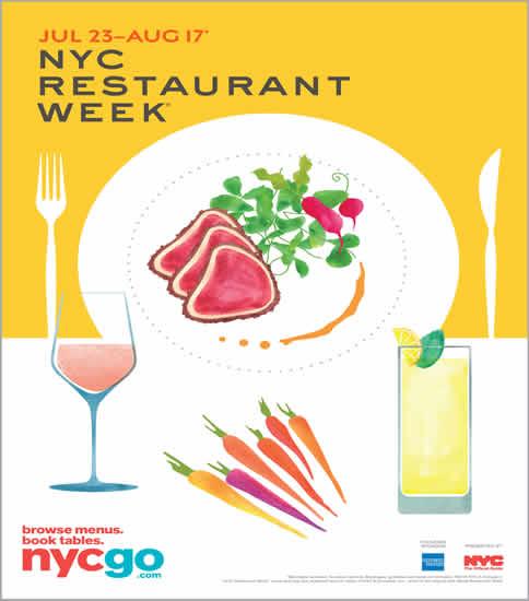 2018年の夏期「NYC レストランウィーク」は7月23日にキックオフ! 2コースのランチメニューも初登場