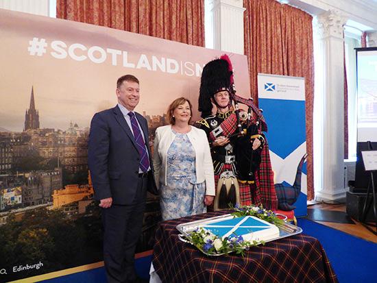 スコットランド政府より観光大臣が来日 ツーリズム・ネットワーキング・レセプションを開催