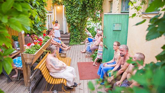 Tampere-sauna