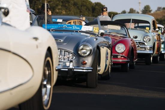 カリフォルニアのハイウェイ1号線で9日、壮大なツーリング・イベント「ドリーム・ドライブ」が開催!