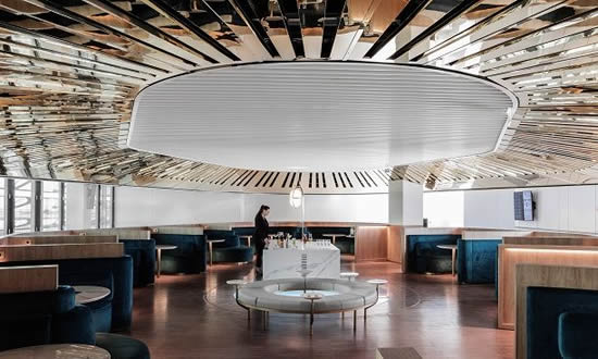 エールフランス、シャルル・ド・ゴール空港2Eターミナルのビジネスラウンジを完全リニューアル