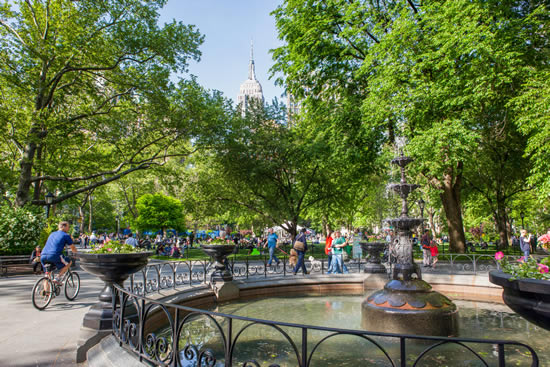 NYC madison-squarepark