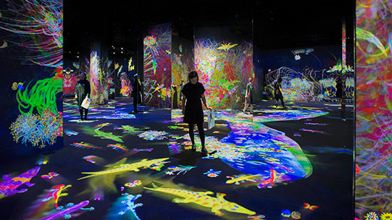 チームラボ、ヘルシンキの新美術館「Amos Rex」でオープニング展を開催