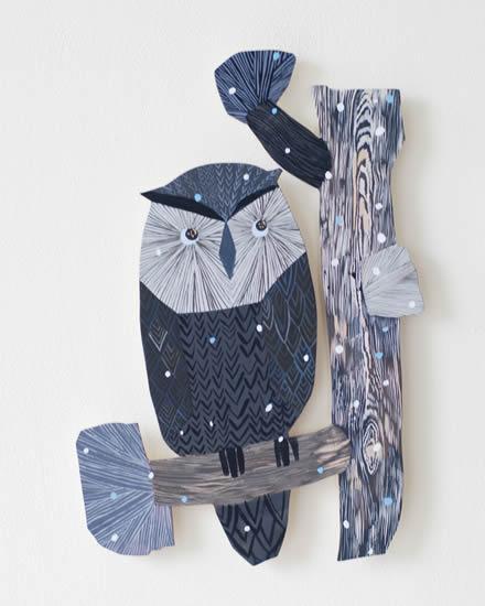 フィンランドのイラストレーター、マッティ・ピックヤムサの作品展