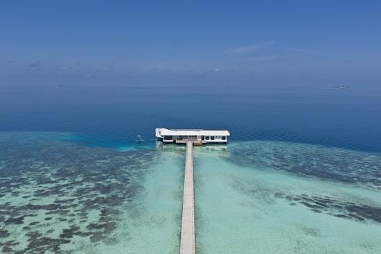 コンラッド・モルディブ・ランガリ・アイランドに世界初の海中レジデンス「ザ・ムラカ」が開業