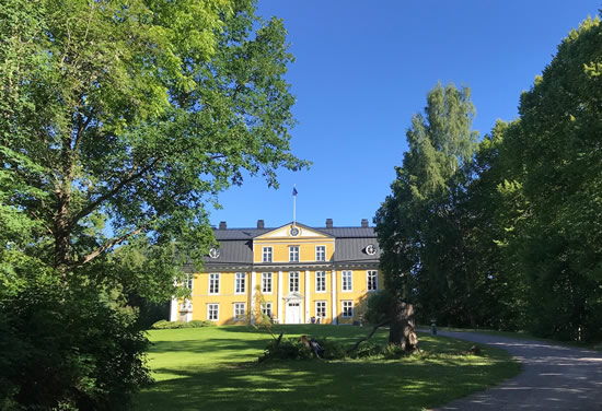 Finland Mustion Linna Manor House Outside