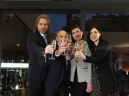 10周年を迎えたローマの5ッ星Lホテル「Grand Hotel Via Veneto」がレセプションを開催