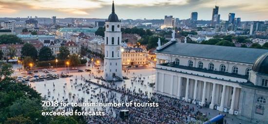 リトアニア統計局発表 – リトアニアを訪れる日本人旅行者数が22.3%増