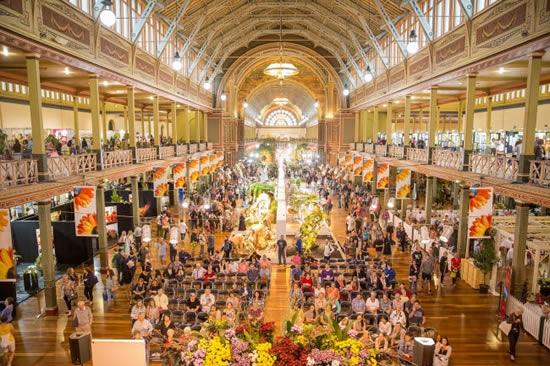 南半球最大級の花と庭園のイベント「第24回メルボルン国際フラワー&ガーデンショー」開催