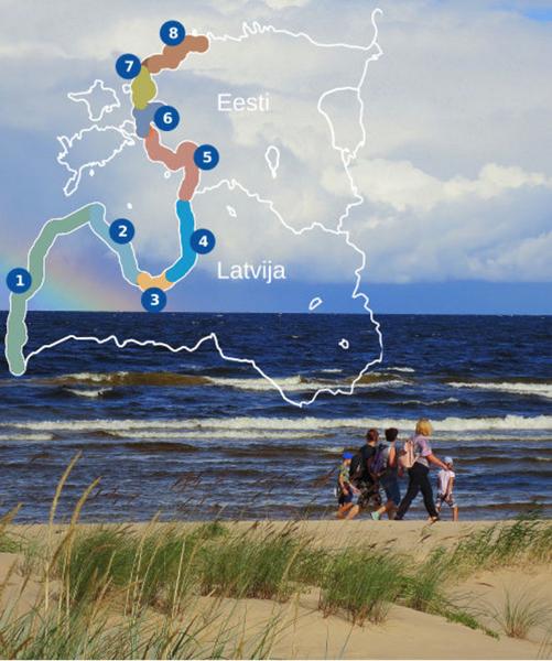 今、最も注目が集まるバルト海沿岸のハイキングコースを歩く旅