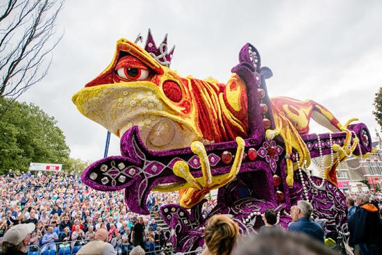9月になってもまだまだ楽しめるオランダの花パレード