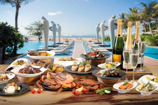 金曜日にも楽しめるようになったバリ島ヌサドゥアで人気の「ソレイユブランチ」