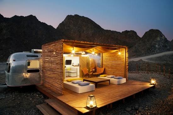 砂漠のオアシス「ハッタ」に中東エリア初のトレイラーホテルが登場!