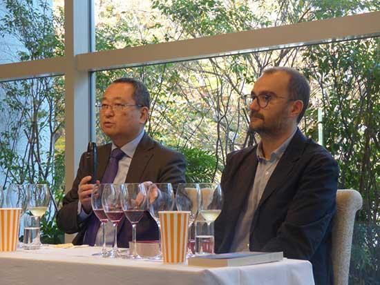 イタリアから生産者が来日し「スローワイン」の魅力を訴求