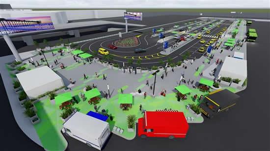 ロサンゼルス国際空港に新サービス「LAX-it」が新設