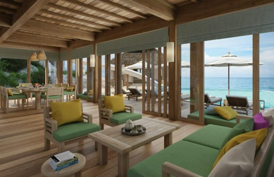 Six Senses Water Retreat Living