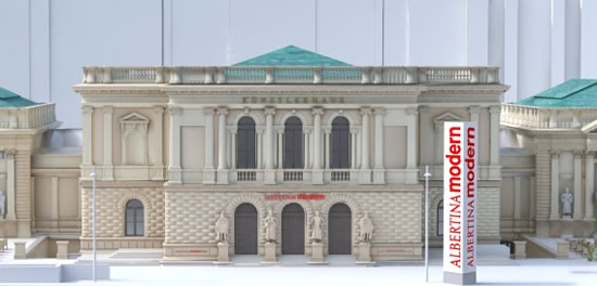 2020年春、ウィーンに「アルベルティーナ近代美術館」がオープン!