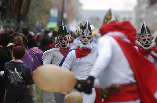 ガリシアの「シンソ・デ・リミアのカーニバル」