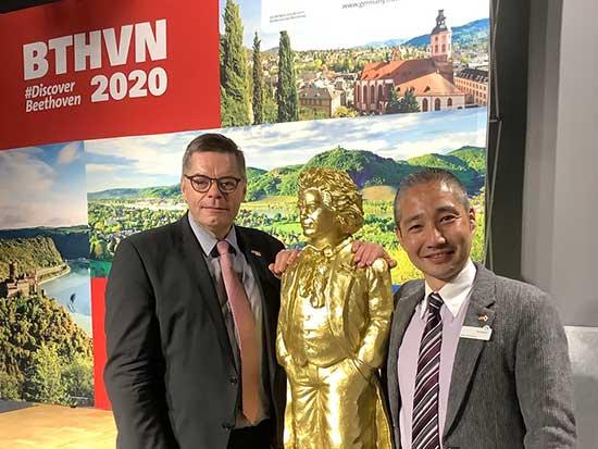 ドイツ観光局、「ベートーヴェン生誕250周年」で記念イベントを開催