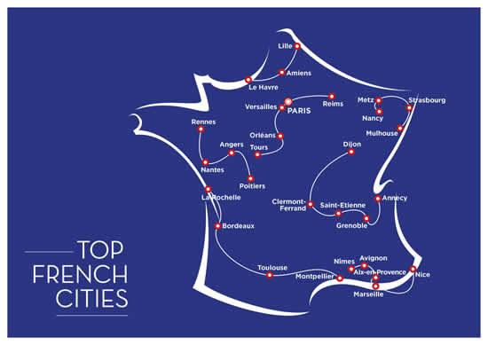 至高のアーバンツーリズムが体験できる「Top French Cities」