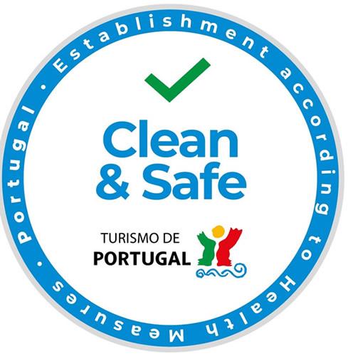 ポルトガル政府観光局「クリーン&セーフ」スタンプで施設認定