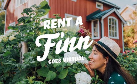 オンラインプログラム「バーチャル Rent a Finn」がスタート