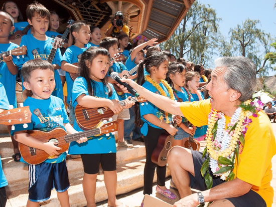 50th Ukulele Festival Hawaii 02