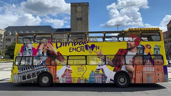 この夏、ポズナンにポップな観光バス「BimbaBus」が登場!