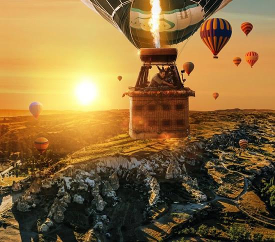 世界初! 世界的に人気のDJ ベン・ベーマーが世界遺産カッパドキアの上空からパフォーマンスを披露