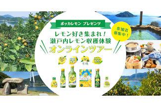 瀬戸内レモン収穫体験 オンラインツアー