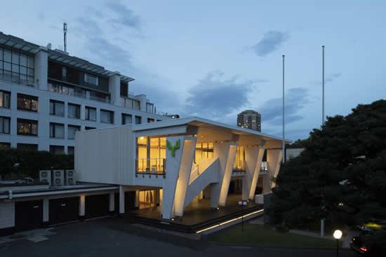 フィンランド大使館の敷地内に「メッツァ・パビリオン」が正式オープン!