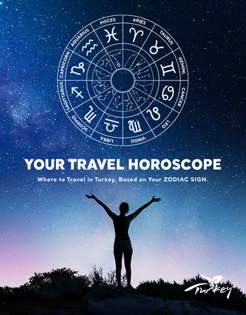 トルコでの休暇先を提案するアプリ「トラベルホロスコープ」がリリース