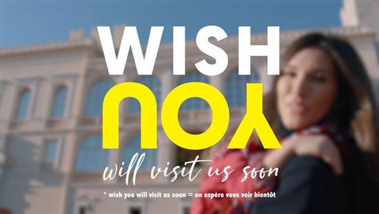 モナコ政府観光会議局、新テーマ「WISH YOU」を発表