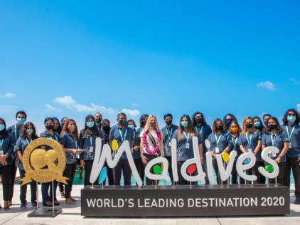 2020年、モルディブへの観光客が50万人を突破