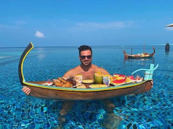 モルディブ政府観光局、シュテファン・ハウザーとモルディブの安心・安全な旅をアピール