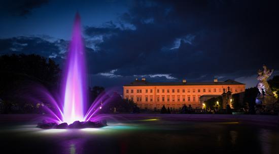 真夏の夜はミラベル宮殿で野外コンサートを楽しむ