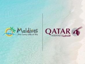 モルディブ政観、カタール航空と共同でグローバルキャンペーンを実施中